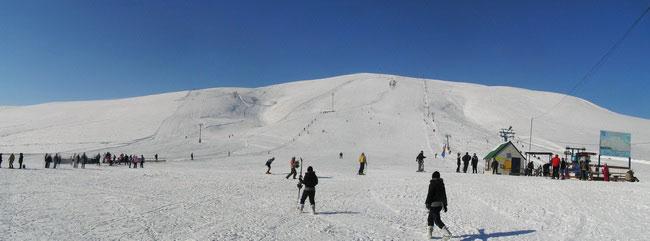 Горные лыжи с детьми. Март 2016