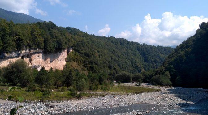 В горах Абхазии. Кодори