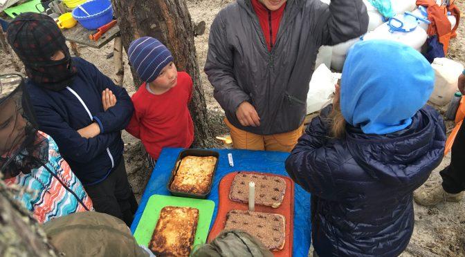 Испечь пирог в походе